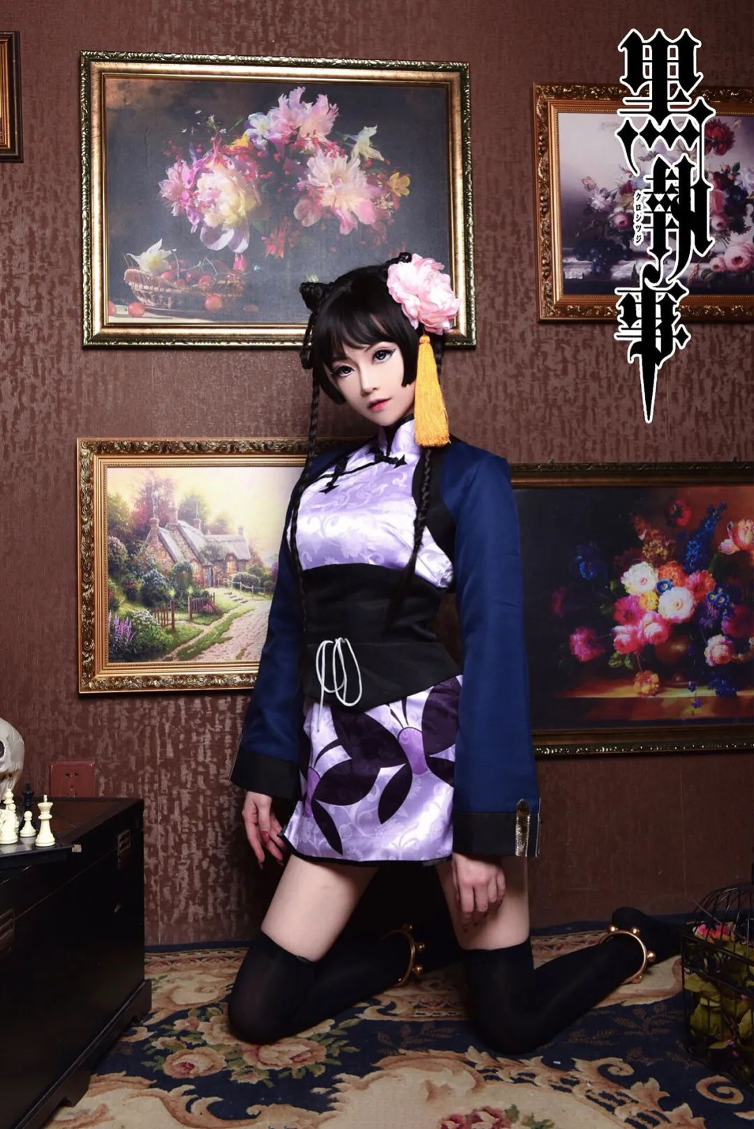 Cosplay特辑丨《黑执事》三无少女蓝猫cos